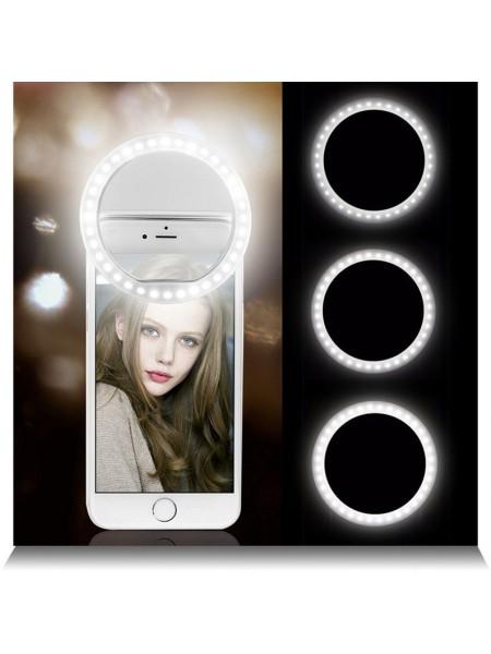 Селфи-кольцо Led на телефон RK12