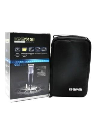 Профессиональная машинка для стрижки волос Gemei GM-836, 10 насадок
