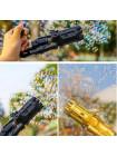 Детский пистолет пулемет пушка  для создания мыльных пузырей BUBBLE GUN BLASTER