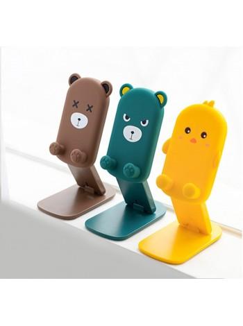 Настольная подставка держатель для телефона/планшета Desktop stand Animals