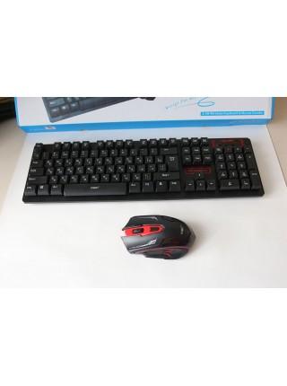 Беспроводная клавиатура + мышка HK6500