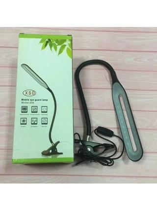 Светодиодная настольная лампа на прищепке XSD 206 24LED USB