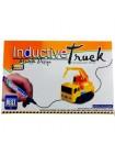 Индуктивный игрушечный автомобиль Inductive Truck, ездит по нарисованной линии