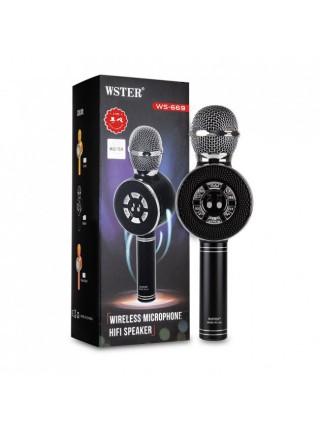Беспроводной микрофон для караоке Wster WS-669