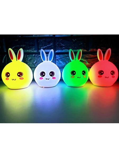 Оригинальный детский светильник ночник Кролик Rabbit, LED лампа