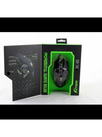 Игровая компьютерная мышь Keywin X6, проводная