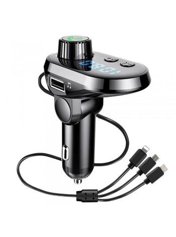 Автомобильный FM трансмиттер модулятор Q15