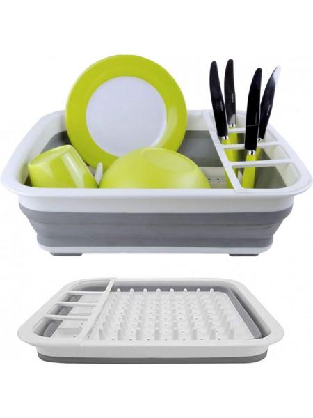 Сушилка для посуды складная портативная Collapsible Drying