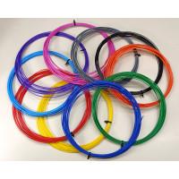 Пластик PLA для 3Д ручек, диаметр 1,75 мм, мотки по 10м цвета в ассортименте