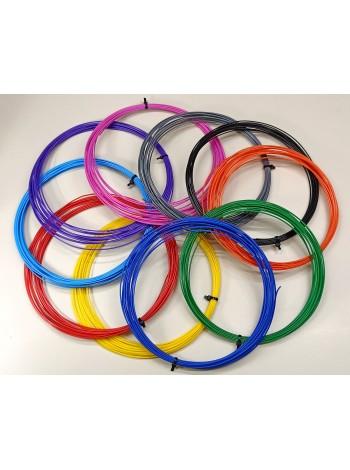Пластик PLA для 3Д ручек, пластиковые нити диаметр 1,75 мм, заряд для 3D ручки
