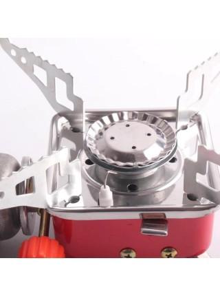 Портативная газовая плита с пьезоподжигом k-202