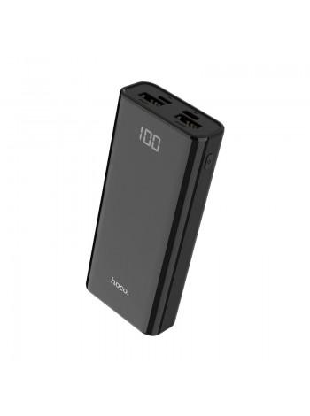 Внешний аккумулятор Power bank HOCO J 45 10000 два USB выхода LED дисплей