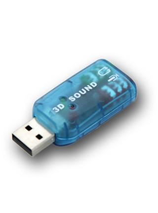 Карта звуковая  USB внешняя