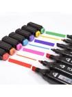 Набор двухсторонних скетч маркеров Sketch Marker Touch 24 цвета в сумочке