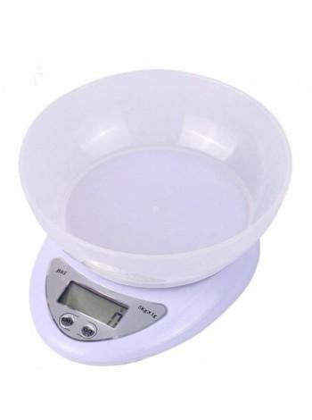 Весы кухонные Domotec ACS SH-126 до 7 кг с чашей и батарейками
