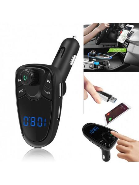 Автомобильный FM трансмиттер M1BT модулятор