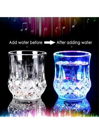 Стакан с подсветкой Inductive RainBow Color Cup LED стакан светящийся