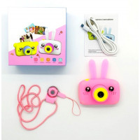 Детский цифровой фотоаппарат Children`s fun Camera  Зайчик, Мишка 3Мп