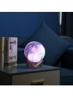 Яркий дизайнерский сенсорный светильник ночник лампа 3D  Космос15 см