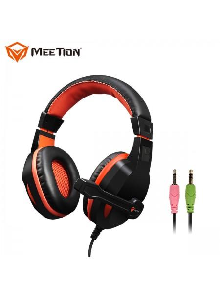 Игровые проводные наушники MEETION Gaming Backlit MT-HP010 с микрофоном