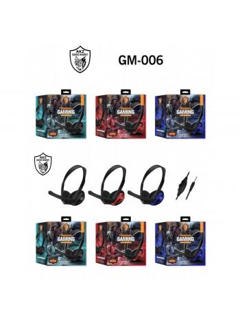 Наушники компьютерные Gaming Headset GM-006 с микрофоном