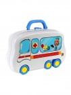 Игровой набор доктора Happy doctor, чемоданчик-машинка «Скорая помощь»