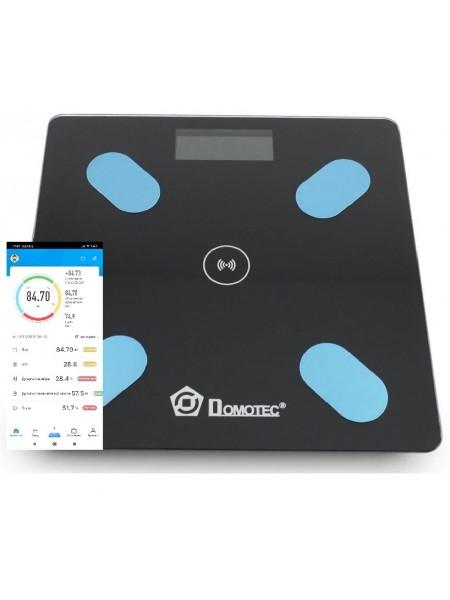 Напольные весы Domotec  ACS 2017A 180kg с приложением на телефон