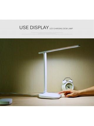 Светодиодная настольная  Складная лампа с сенсорным затемнением