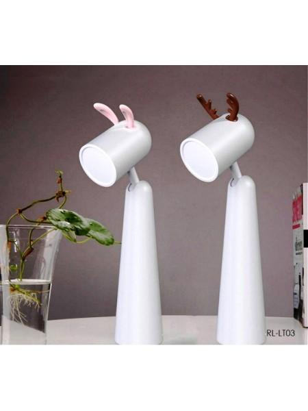 Настольная светодиодная беспроводная LED лампа ночник Remax Life Lamp
