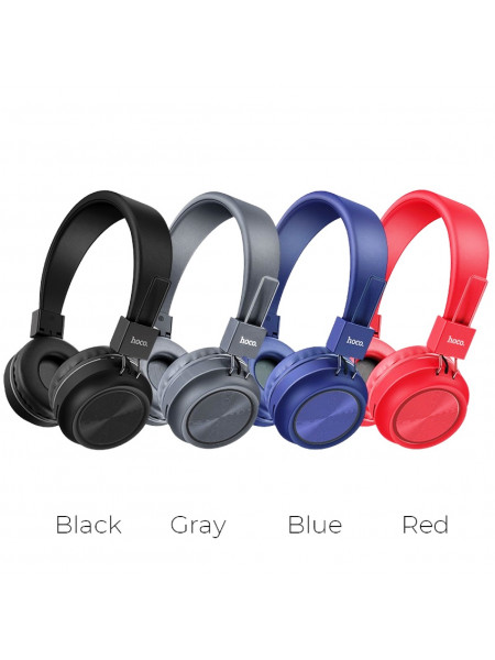 Наушники беспроводные Bluetooth HOCO W25 Promise с микрофоном