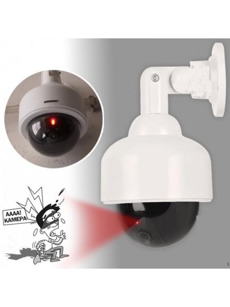 Муляж Камера видеонаблюдения CAMERA DUMMY 2000S Камера обманка купольная подвесная