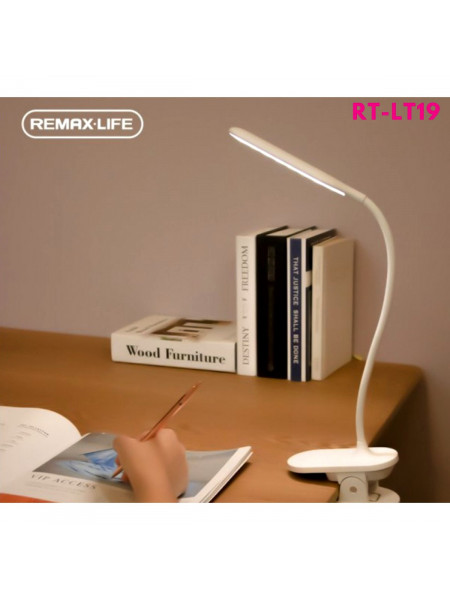 Лампа настольная сенсорная led Remax RL-LT19 Life Clip