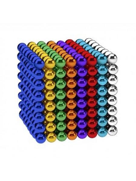 Магнитные шарики-головоломка NEOCUBE (D5) комплект (512 шт) Color Mix