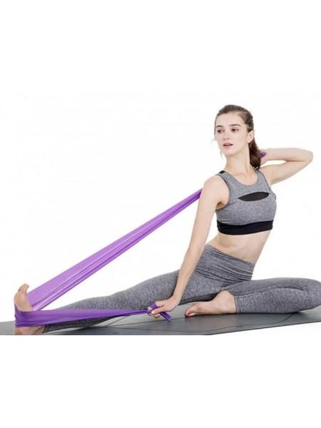 Резинка для фитнеса (лента-эспандер) эластичная  120х15см