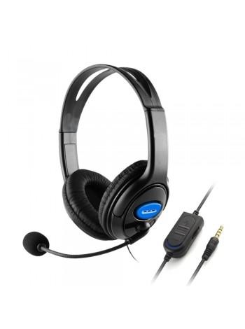 Проводные игровые наушники с микрофоном  40 мм  для Sony PS3 PS4 ноутбуков и ПК