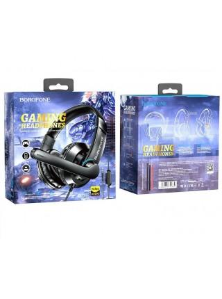 Наушники Borofone BO102 с микрофоном, игровая гарнитура для компьютера
