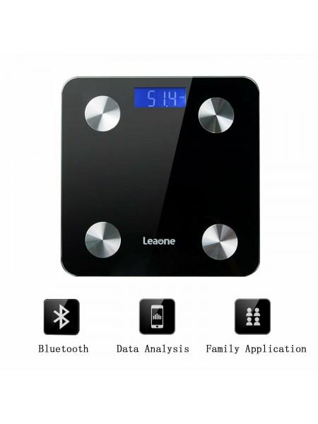 Смарт-весы Leaone, интеллектуальные цифровые весы с Bluetooth BF8028
