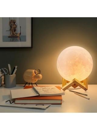 Лампа Луна 3D Moon Lamp. Настольный светильник луна Magic 3D Moon Light