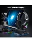 Игровые наушники ONIKUMA Gaming with RGB LED X9 с микрофоном и LED RGB подсветкой проводные