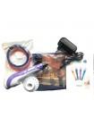 3Д ручка 3D Pen-2 MINECRAFT Майкрафт c LCD дисплеем. 9м пластика и 10 трафаретов