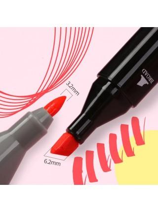 Скетч маркеры Touch двусторонние для рисования скетчинга 36шт