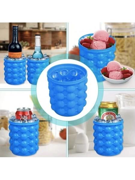 Форма ведро для льда Ice Cube Maker Genie для охлаждения напитков