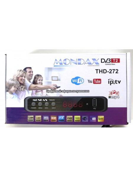 Т2 тюнер, ресивер T2 MONDAX LCD IPTV YouTube WiFi