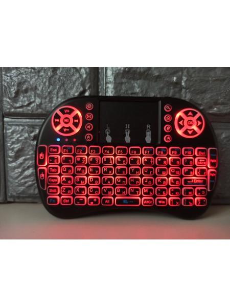 Беспроводная мультимедийная клавиатура с сенсорной панелью MWK08i8 touch
