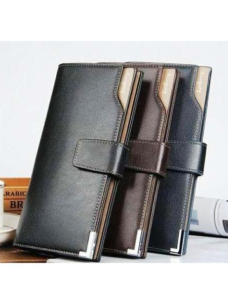 Стильный мужской кошелек, портмоне, клатч Baellerry Italia модель С1283 черный