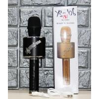 Микрофон  Karaoke  YS-66, FM-радио, USB, TF, AUX, с подсветкой 2 в 1