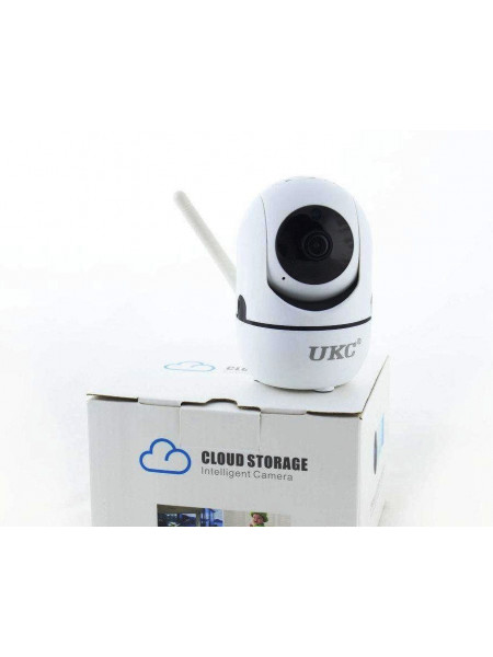 Беспроводная поворотная комнатная WiFi IP камера, видеоняня, датчик движения