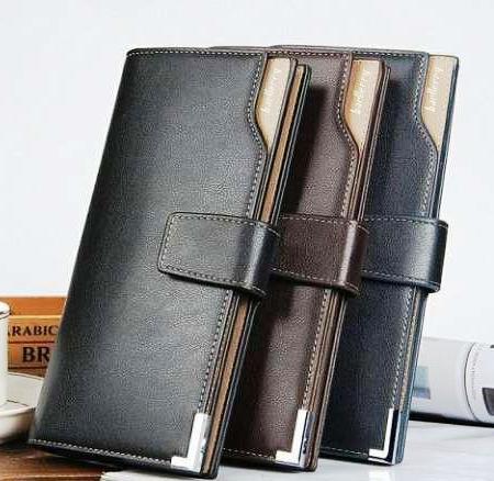 Стильный мужской кошелек, портмоне, клатч Baellerry Italia модель С128